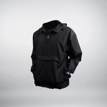 Hàng Chính Hãng Áo Khoác Champion Packable Jacket Triple Black 2021**