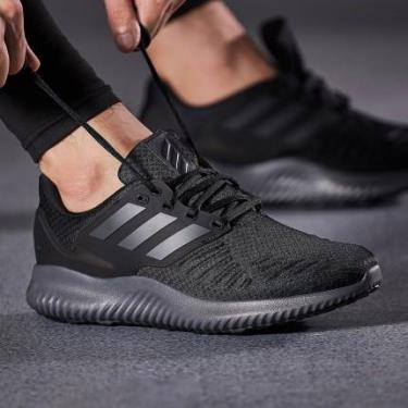 Hàng Chính Hãng Adidas Alphabounce RC 2 Black/grey 2020**