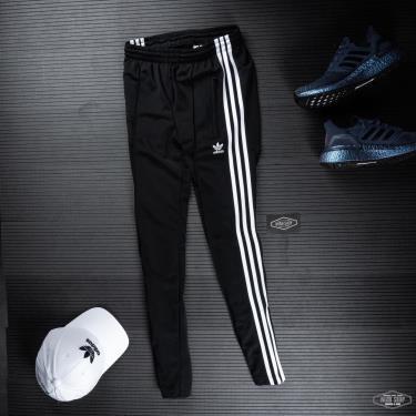 Hàng Chính Hãng Quần Adidas Trackpants Zip Black/White US 2020**