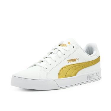 Hàng Chính Hãng Puma Smash v2 White Gold 2020**