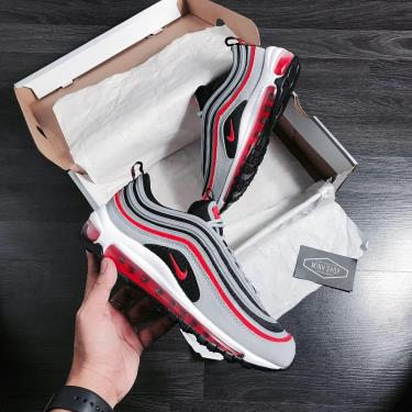 Hàng Chính Hãng Nike Air Max 97 Dark Grey/Solar Red 2020**