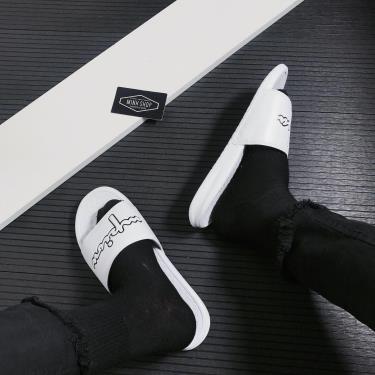 dep-champion-script-logo-split-slide-white