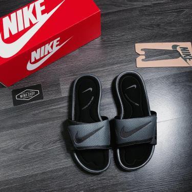 Hàng Chính Hãng Nike Solarsoft Comfort Slides Black Gray 2020**