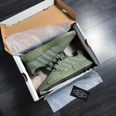 ''HOT DEAL 70% '' Hàng Chính Hãng Adidas NMD R1 Dark Green 2020**