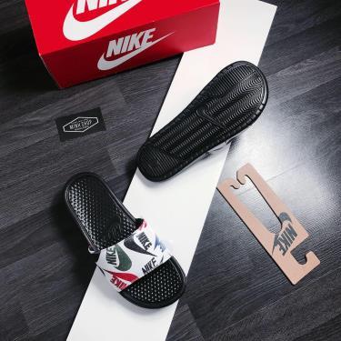 Hàng Chính Hãng Dép Nike Benassi JDI Print Black/Mutilcolor 2020**