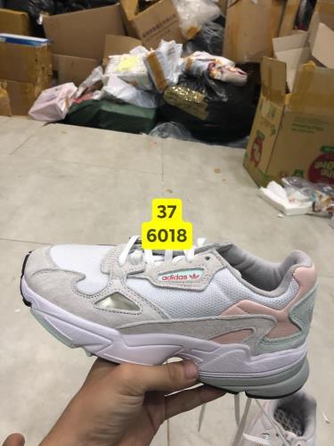 Hàng Chính Hãng Adidas Falcon White/Grey/Mint 2019**