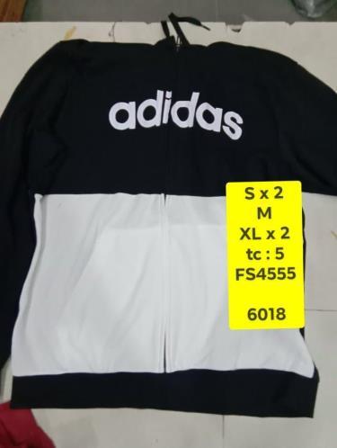 Hàng Chính Hãng Áo Khoác Adidas Black White 2020**