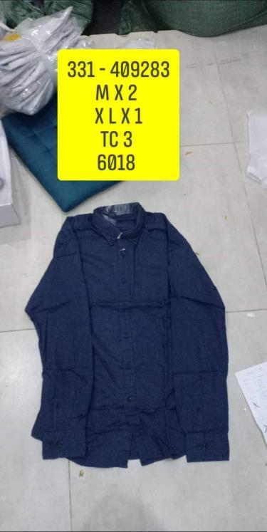 Hàng Chính Hãng Áo Uniqlo Flannel Long Sleeve Shirt Blue 2020**