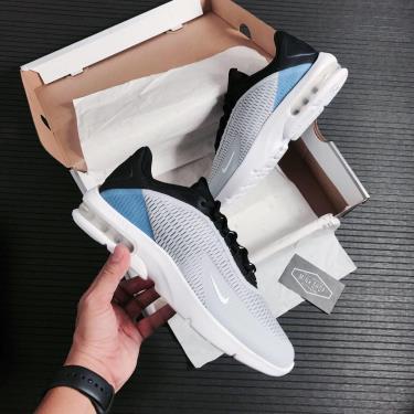 Hàng Chính Hãng Tenis Nike Air Max Advantage 3 Grey/Black/Blue 2020**