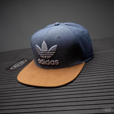 Hàng Chính Hãng Nón Adidas Snapback Grey/Brown 2020**