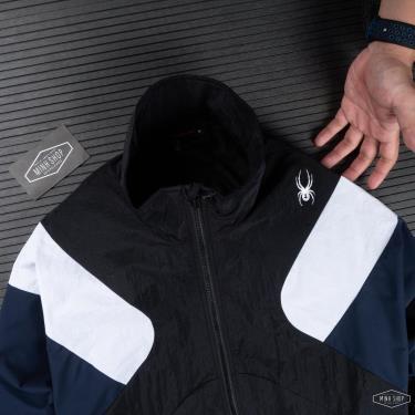 SALE 45% 25G  Áo Khoác Jacket Spyder Black