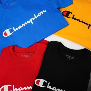 Hàng Chính Hãng Áo Thun Champion Heritage Tee BLue 2020**