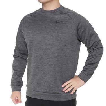 Hàng Chính Hãng Áo Sweater Nike Dri-Fit Dark Grey 2021**