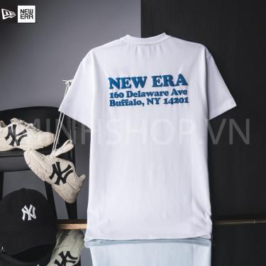 Hàng Chính Hãng Áo Thun New Era White/Blue 2020**