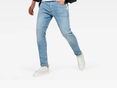 Hàng Chính Hãng Quần Jeans G-Star Raw Blue White 2020**