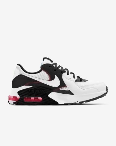 Hàng Chính Hãng Nike Air Max Excee White/Black/Flash Crimson 2021**