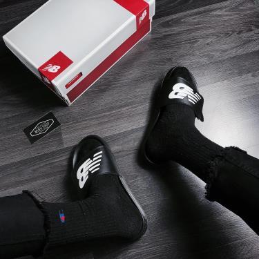 Hàng Chính Hãng Dép Newbalance Black/White Strap **2020**