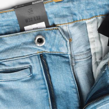 Hàng Chính Hãng Quần Jeans G-Star Raw Arc 3D Slim Jeans Light Blue 2020**
