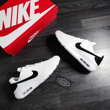 Hàng Chính Hãng Nike Air Max Oketo White/Black 2020**