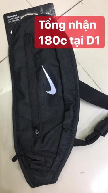 Hàng Chính Hãng túi chéo Nike Black/White 2020**