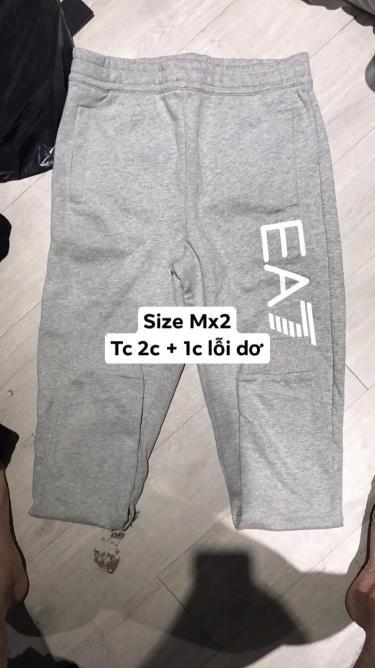 Hàng Chính Hãng Quần Jogger Emporio Armani EA7 Grey 2019**