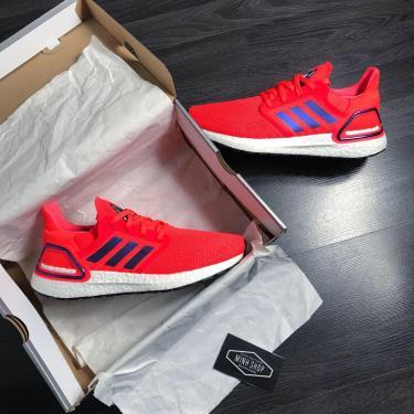 Hàng Chính Hãng Adidas Ultra Boost 6.0 Solar Red 2020**