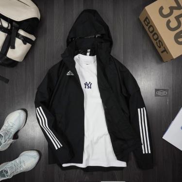 Hàng Chính Hãng Áo Khoác Adidas Full Zip Black 2020**