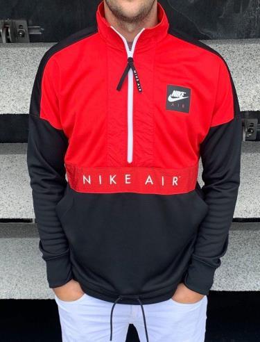 Hàng Chính Hãng Áo Khoác Nike Air Jacket  Half-Zip Red/Black 2020**