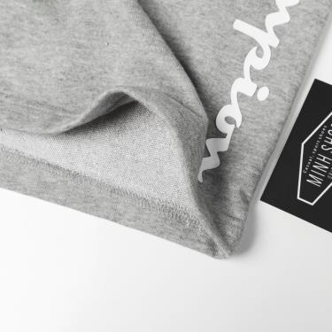 Hàng Chính Hãng Quần Short Champion Grey Straight Logo 2020**