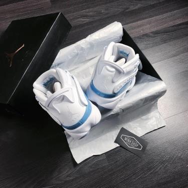 Hàng Chính Hãng Nike Jordan 6 Ring White/Blue UNC 2020**
