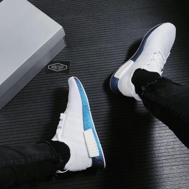 Hàng Chính Hãng Adidas NMD R1 Silver Metallic /White 2021**