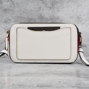 Hàng Chính Hãng Túi Marc Jacobs The Snapshot Small Camera Bag White 2021**