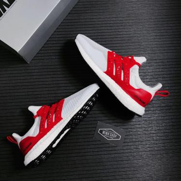 📩 sale50% TODAY !  📩 Giày Adidas Ultra Boost DNA CTY Singapore White/Red ** [FZ4867]