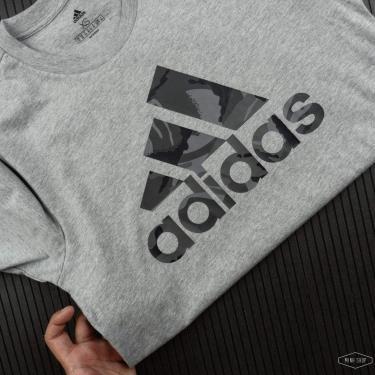Hàng Chính Hãng Áo Thun Adidas  Essentials Camouflage-Print Grey 2021