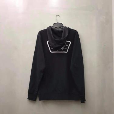Hàng Chính Hãng Áo Hoodie Vans Black Logo 2021** VN0A45CJBLK