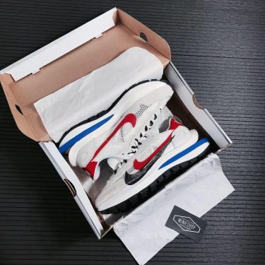 Hàng Chính Hãng Nike Ldwaffle x Sacai Cream White/Blue/red 2021** V - cv1363-100