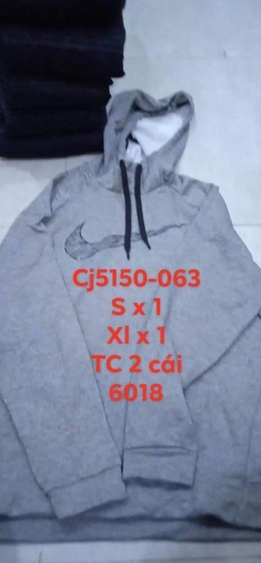 Hàng Chính Hãng Áo Hoodie Nike Brushed Grey/Black LOGO 2020**