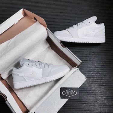 Hàng Chính Hãng Nike  Air Jordan 1 Low  <M > 'White Camo' 2021**