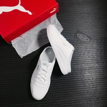 📩  📩  SALE 2.50 NẤC 40% Giày Puma Carina Mule Triple White  **NEW ** [371137 02]