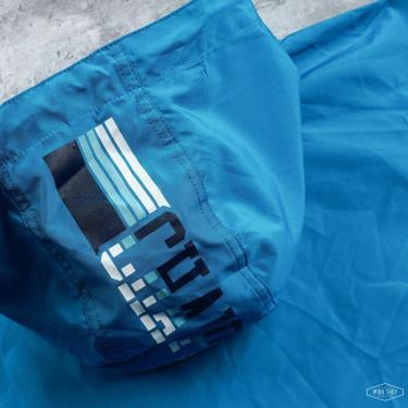 Áo Khoác Champion Packable Jacket Pop Color Logo Teal   [V1012]