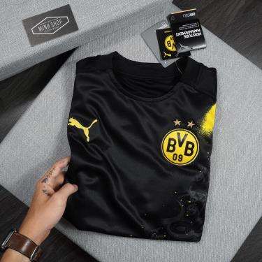 Hàng Chính Hãng Áo Thun Puma Dry Cell Black /Yellow 2020**
