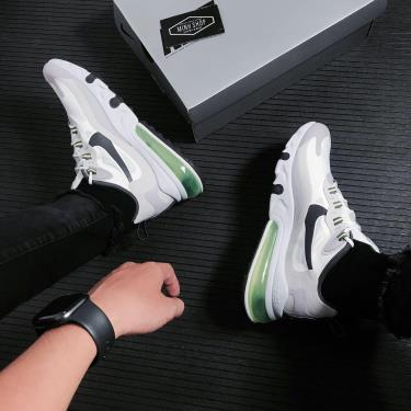 Giày Nike Air Max 270 React Vast Grey * [CI3866 100]