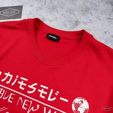 Hàng Chính Hãng Áo Thun Diesel Red/White  *2021**
