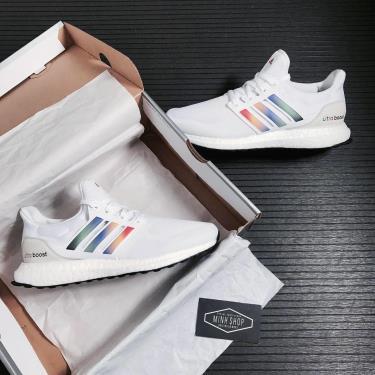 Hàng Chính Hãng Adidas Ultra Boost DNA White Multi 2021**