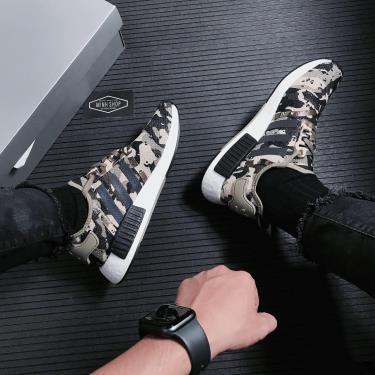 Hàng Chính Hãng Adidas NMD R1 'Savanna Camo' 2021**