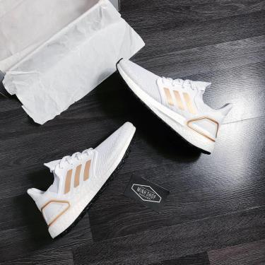 Hàng Chính Hãng Adidas Ultra Boost 6.0 White/Gold 2020**