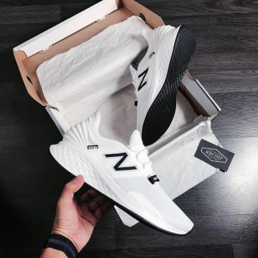 Hàng Chính Hãng NewBalance Fresh Foam Roav White/Black 2020**