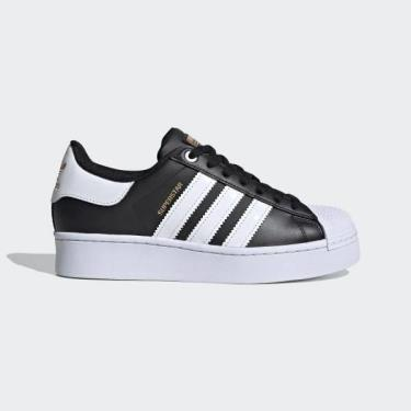 ''FLASH DEAL 70% '' Hàng Chính Hãng Adidas Super Star Gold Stamp Black/White Bold 2019**