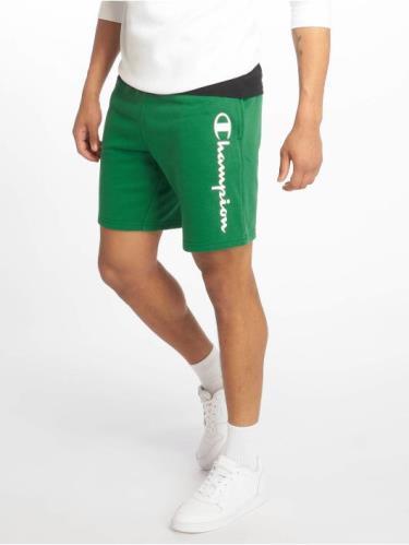 Hàng Chính Hãng Quần Short Champion Green Straight Logo 2019**