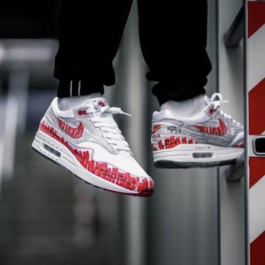 Hàng Chính Hãng Nike Air Max 1 ' Sketch To Shelf  University Red' 2020**